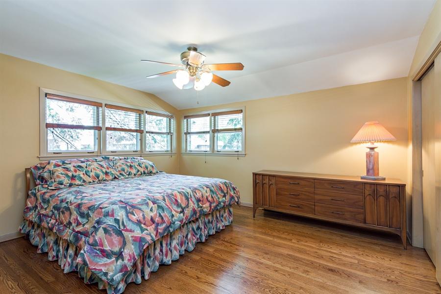Real Estate Photography - 210 Cambridge Road, Des Plaines, IL, 60016 - Master Bedroom