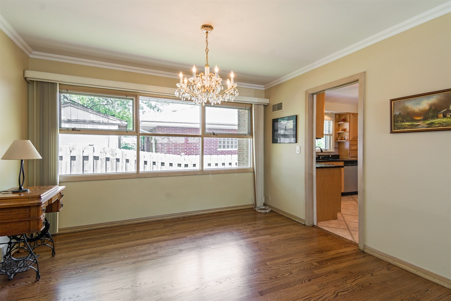 Real Estate Photography - 210 Cambridge Road, Des Plaines, IL, 60016 - Dining Room