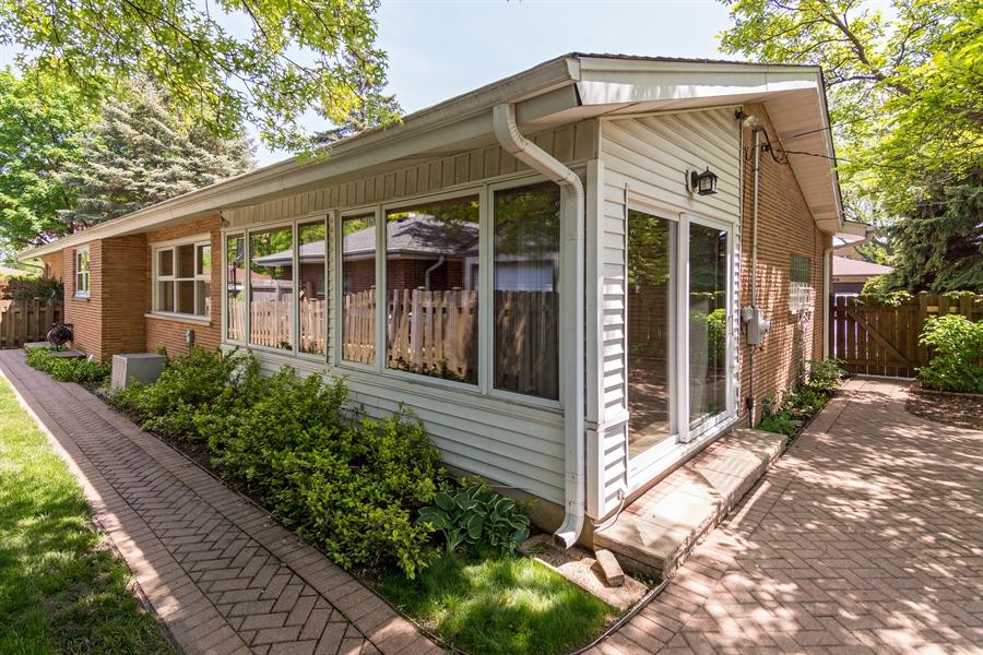 Real Estate Photography - 210 Cambridge Road, Des Plaines, IL, 60016 - Rear View