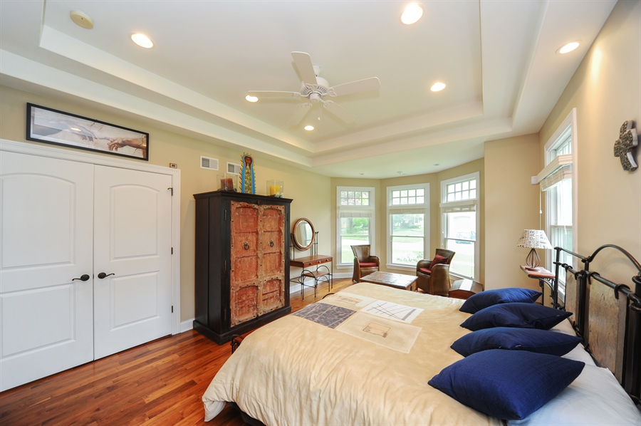 Real Estate Photography - 1420 N. Chicago Avenue, Arlington Heights, IL, 60004 - Master Bedroom