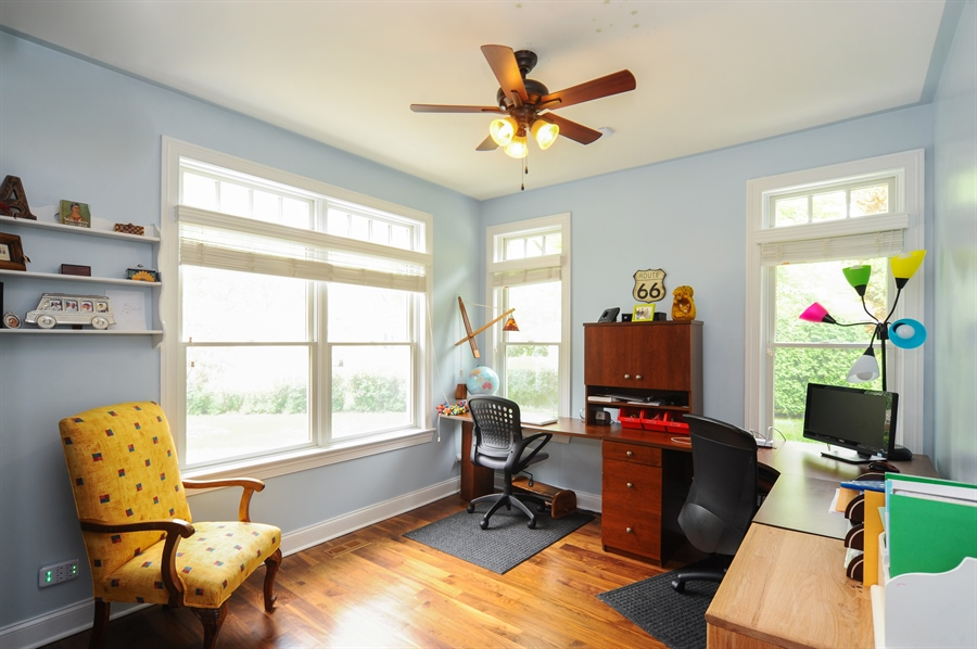 Real Estate Photography - 1420 N. Chicago Avenue, Arlington Heights, IL, 60004 - 2nd Bedroom
