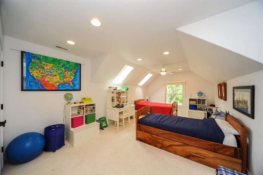 Real Estate Photography - 1420 N. Chicago Avenue, Arlington Heights, IL, 60004 - 4th Bedroom