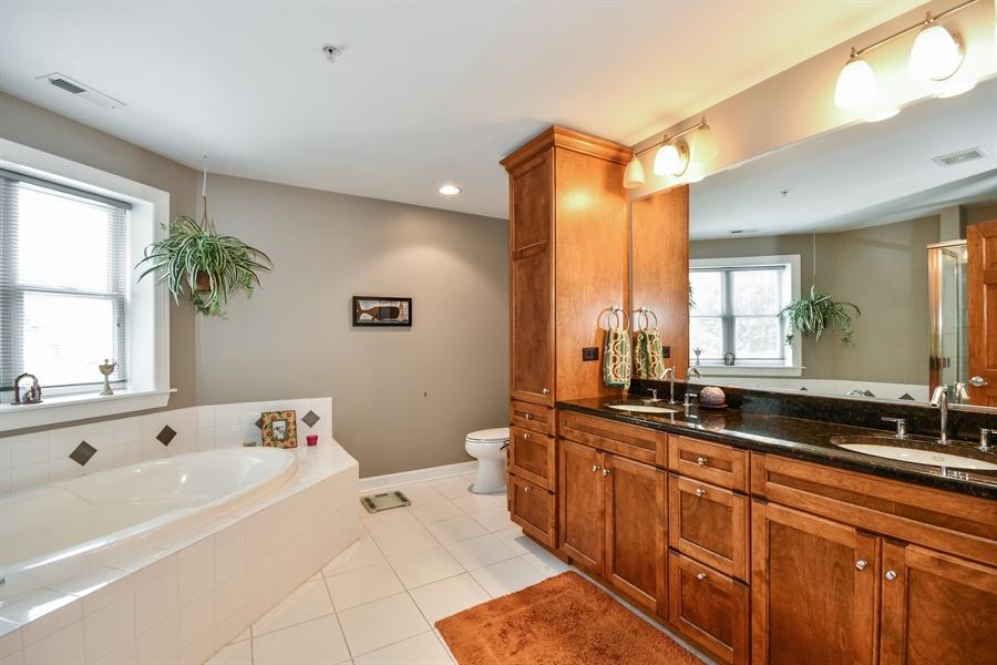 Real Estate Photography - 218 N. Water Street, Unit 201, Batavia, IL, 60510 - Master Bathroom
