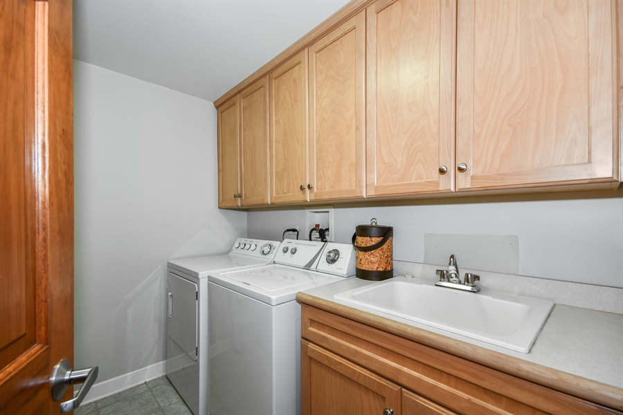 Real Estate Photography - 218 N. Water Street, Unit 201, Batavia, IL, 60510 - Laundry Room
