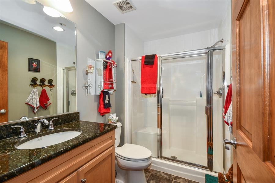 Real Estate Photography - 218 N. Water Street, Unit 201, Batavia, IL, 60510 - 2nd Bathroom