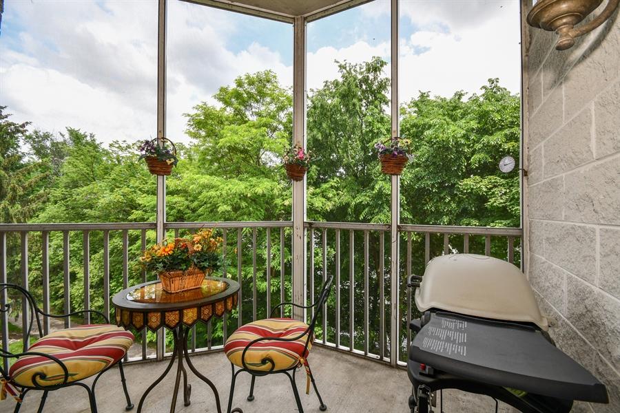Real Estate Photography - 218 N. Water Street, Unit 201, Batavia, IL, 60510 - Balcony