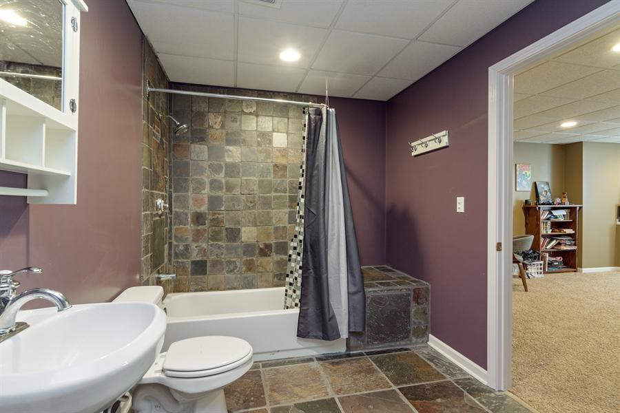 Real Estate Photography - 1885 Northwood Drive, Wauconda, IL, 60084 - 3rd Bathroom
