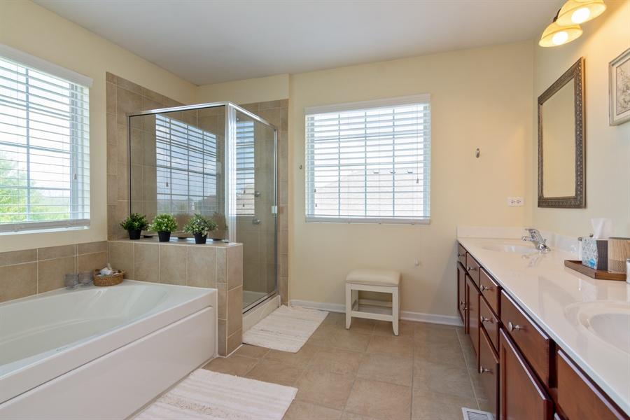 Real Estate Photography - 1885 Northwood Drive, Wauconda, IL, 60084 - Master Bathroom