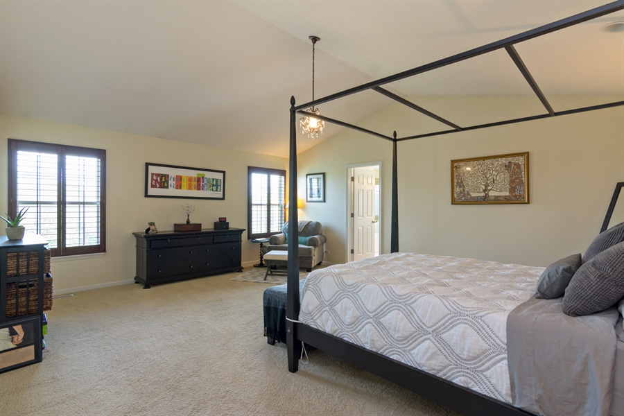 Real Estate Photography - 1885 Northwood Drive, Wauconda, IL, 60084 - Master Bedroom