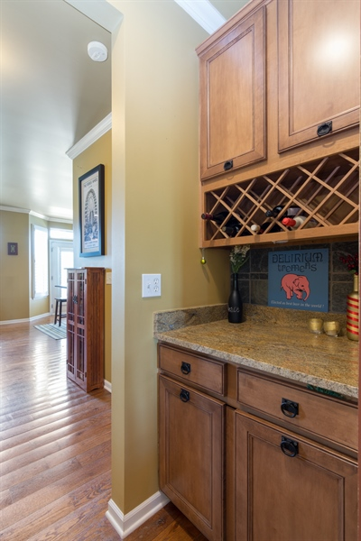 Real Estate Photography - 1885 Northwood Drive, Wauconda, IL, 60084 - Butler's pantry