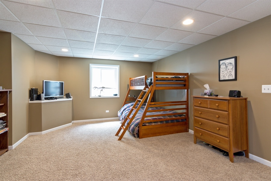 Real Estate Photography - 1885 Northwood Drive, Wauconda, IL, 60084 - Guest Suite
