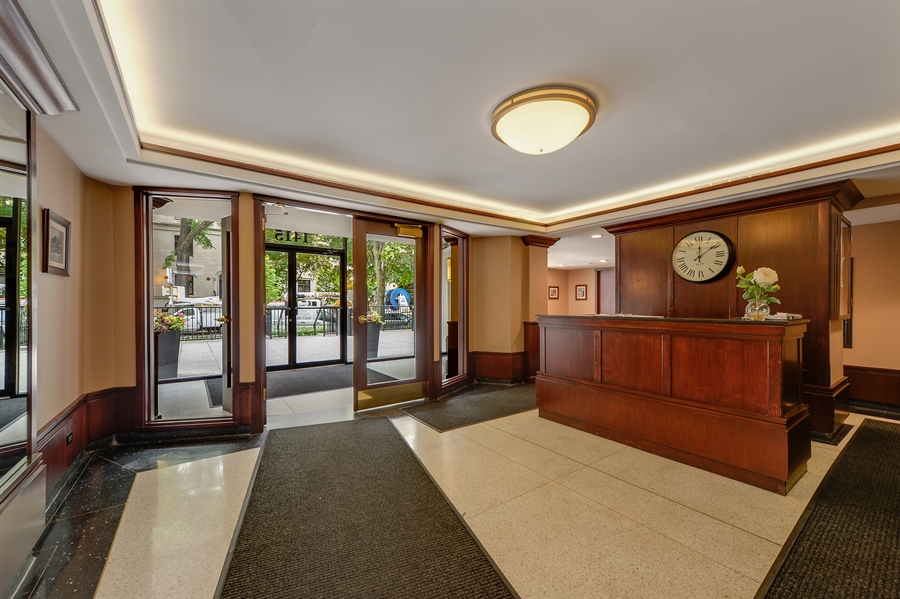 Real Estate Photography - 1415 N. Dearborn Street, Unit 4D, Chicago, IL, 60610 - Lobby