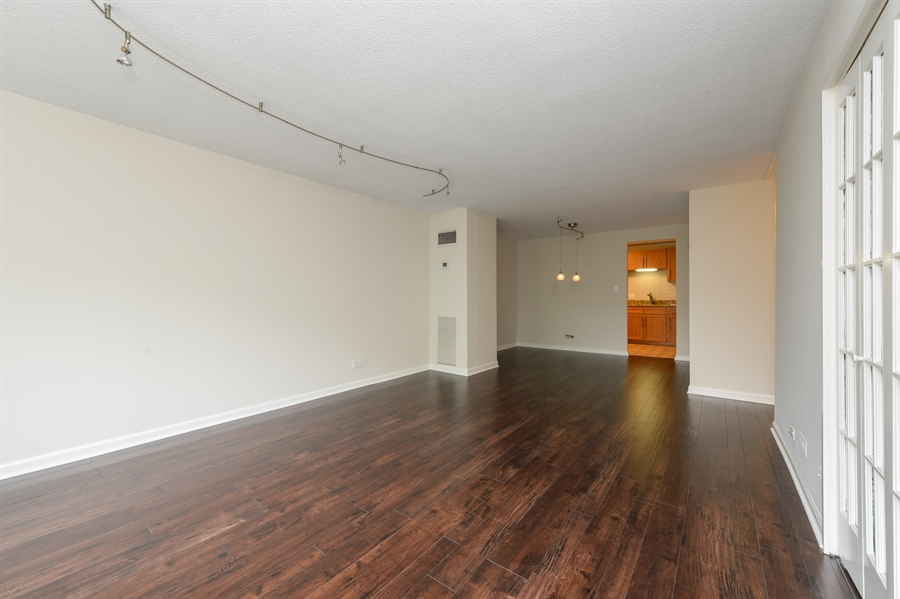 Real Estate Photography - 1415 N. Dearborn Street, Unit 4D, Chicago, IL, 60610 - Living Room