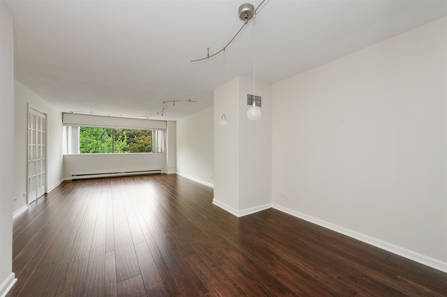Real Estate Photography - 1415 N. Dearborn Street, Unit 4D, Chicago, IL, 60610 - Living Room / Dining Room