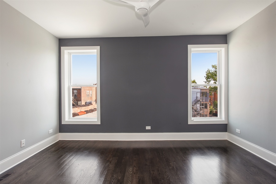 Real Estate Photography - 438 E. 46th Street, Chicago, IL, 60653 - 2nd Bedroom