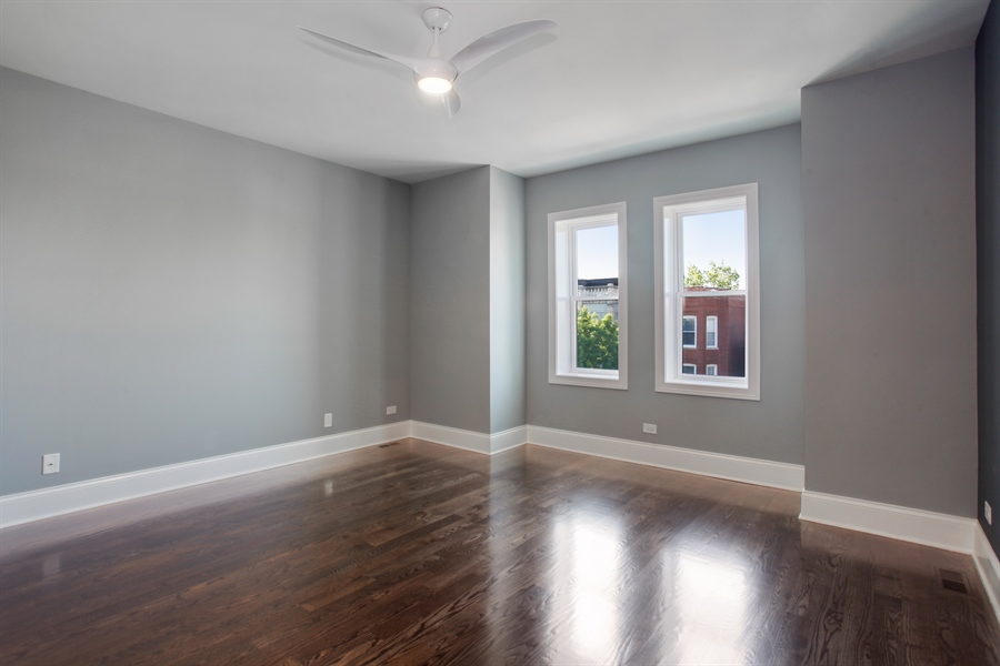 Real Estate Photography - 438 E. 46th Street, Chicago, IL, 60653 - 3rd Bedroom