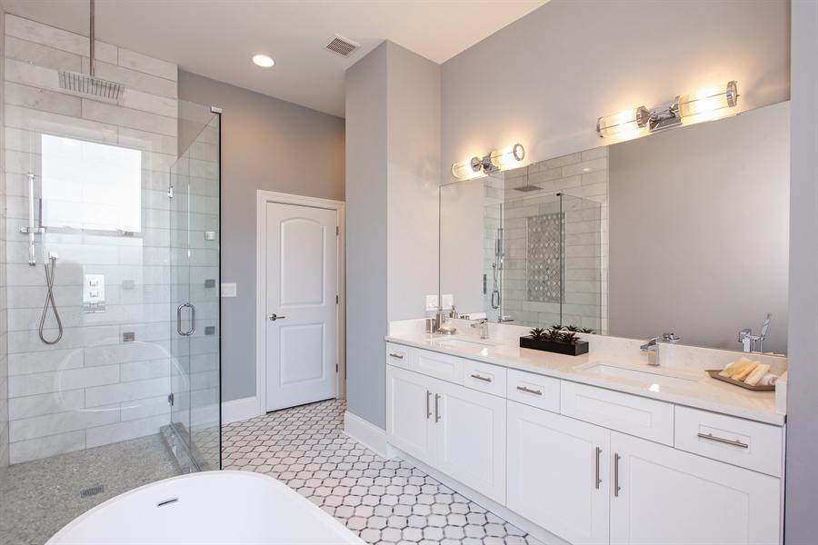 Real Estate Photography - 438 E. 46th Street, Chicago, IL, 60653 - Master Bathroom