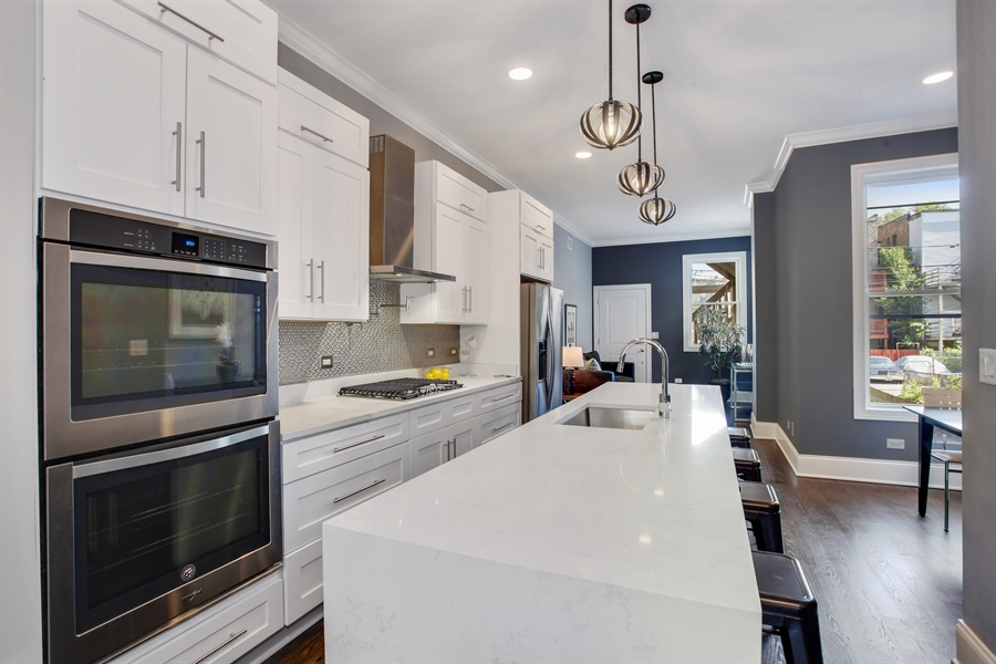 Real Estate Photography - 438 E. 46th Street, Chicago, IL, 60653 - Kitchen
