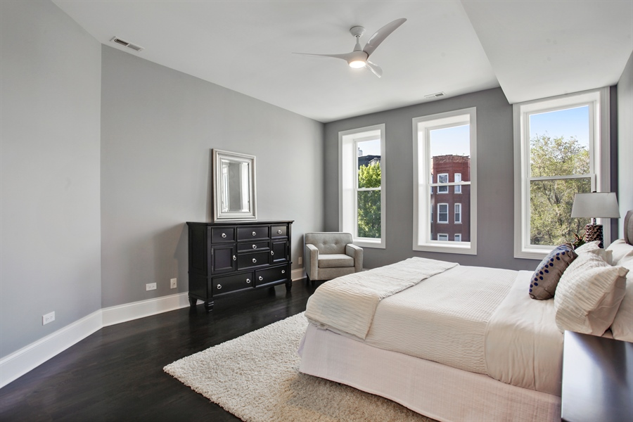 Real Estate Photography - 438 E. 46th Street, Chicago, IL, 60653 - Master Bedroom