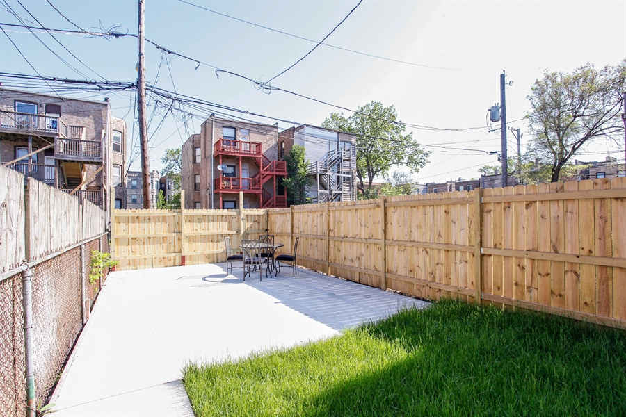Real Estate Photography - 438 E. 46th Street, Chicago, IL, 60653 - Back Yard