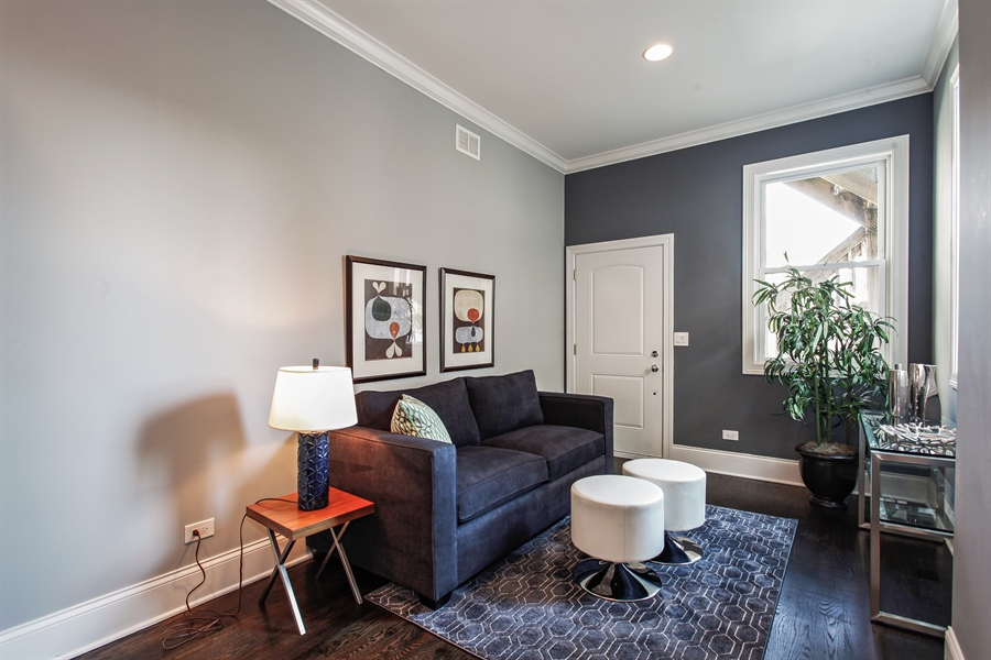 Real Estate Photography - 438 E. 46th Street, Chicago, IL, 60653 - Family Room
