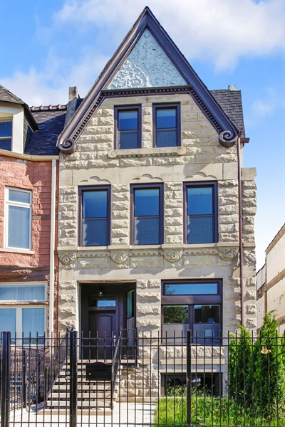 Real Estate Photography - 438 E. 46th Street, Chicago, IL, 60653 - Front View