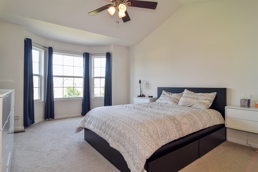 Real Estate Photography - 6544 Lilac Boulevard, Hanover Park, IL, 60133 - Master Bedroom