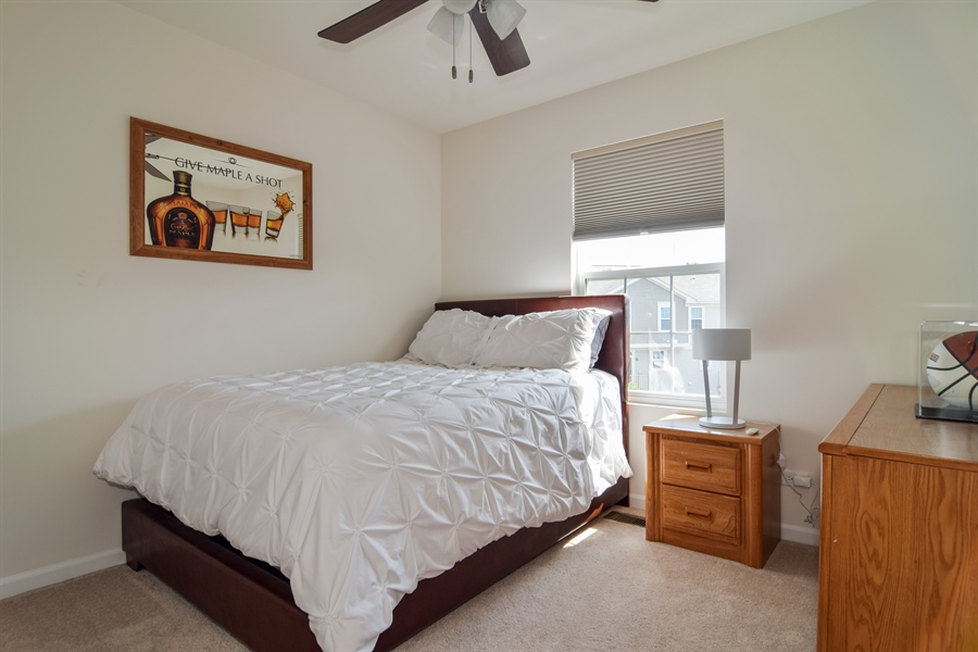 Real Estate Photography - 6544 Lilac Boulevard, Hanover Park, IL, 60133 - Guest Bedroom