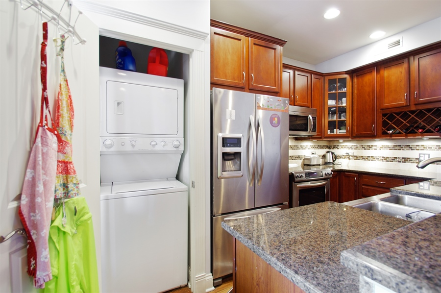 Real Estate Photography - 1410 W Argyle, 2, Chicago, IL, 60640 - Laundry Room