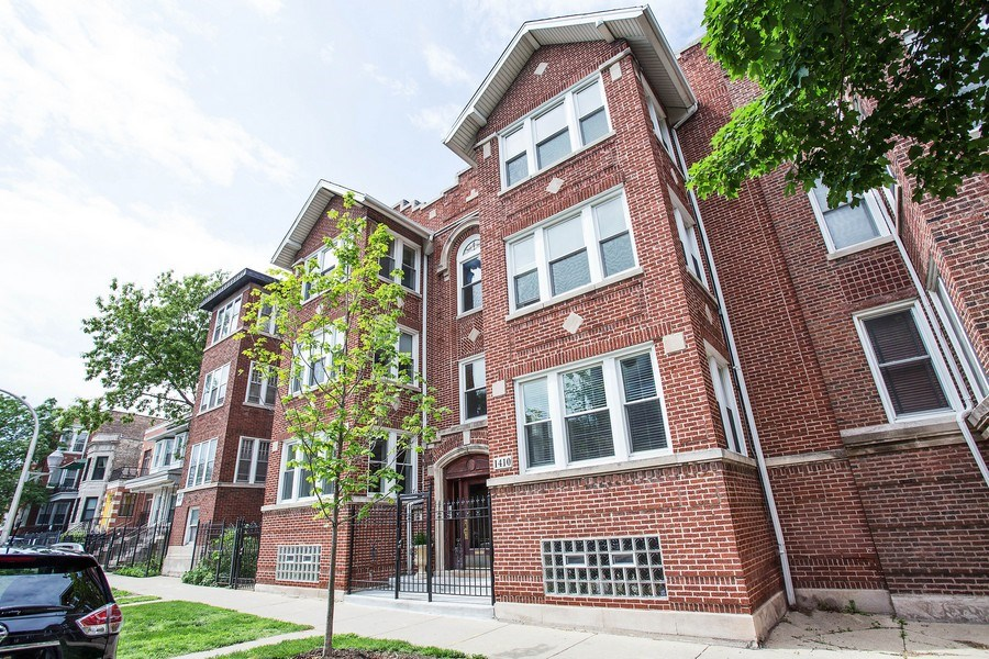 Real Estate Photography - 1410 W Argyle, 2, Chicago, IL, 60640 - Front View