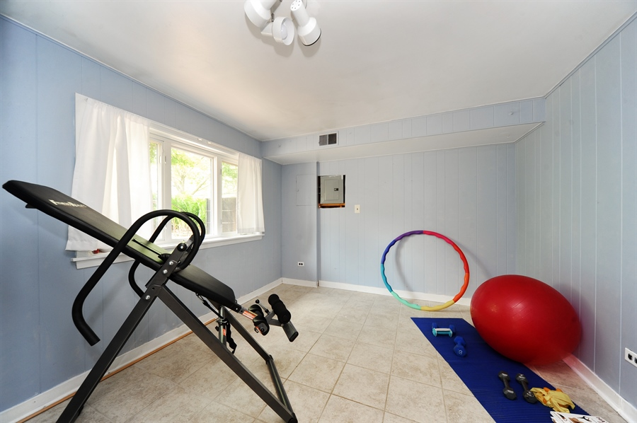 Real Estate Photography - 218 N. KASPAR Avenue, Arlington Heights, IL, 60005 - 4th Bedroom / Exercise Room on Lower Level