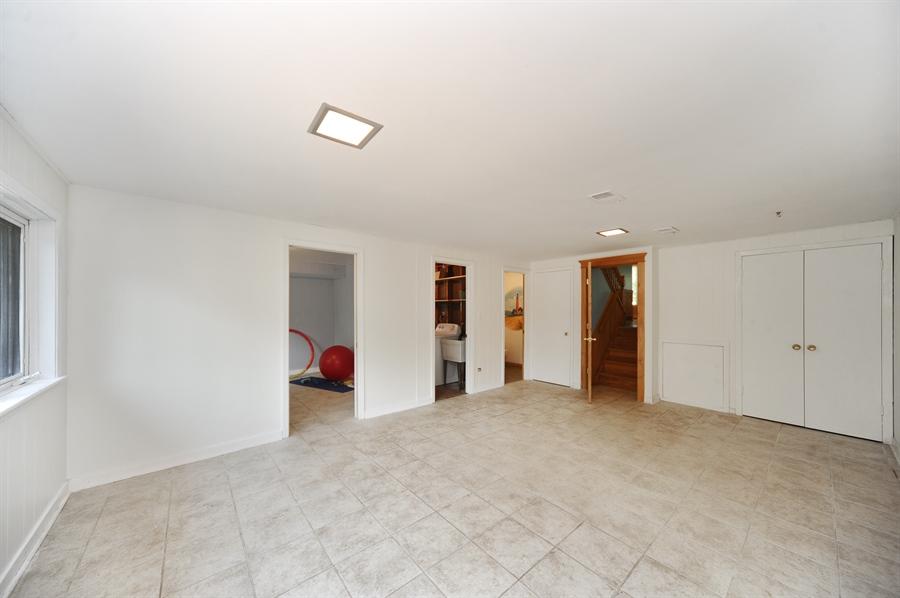 Real Estate Photography - 218 N. KASPAR Avenue, Arlington Heights, IL, 60005 - Lower Level Family Room