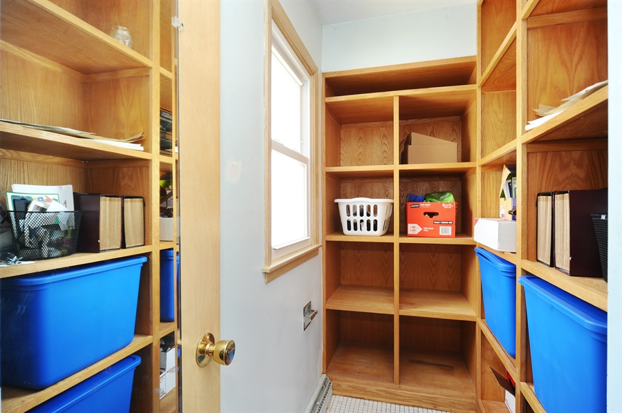 Real Estate Photography - 218 N. KASPAR Avenue, Arlington Heights, IL, 60005 - Master Bedroom Walk/in Closet (Can be converted ba