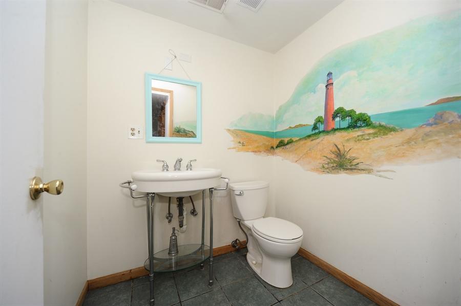 Real Estate Photography - 218 N. KASPAR Avenue, Arlington Heights, IL, 60005 - Half Bath in Lower Level