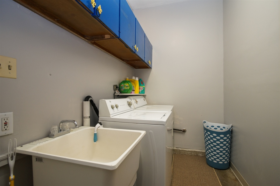 Real Estate Photography - 1061 Leahy Circle, Des Plaines, IL, 60016 - Laundry Room