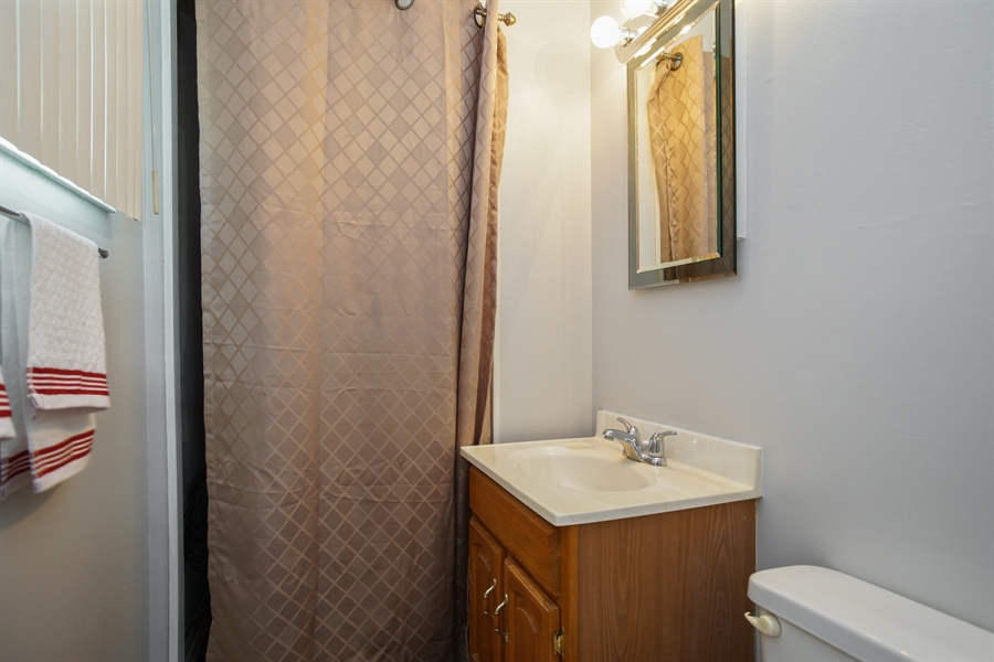 Real Estate Photography - 1061 Leahy Circle, Des Plaines, IL, 60016 - 2nd Bathroom