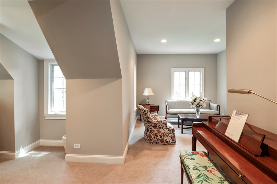 Real Estate Photography - 1224 Ashbury Lane, Libertyville, IL, 60048 - 4th Bedroom