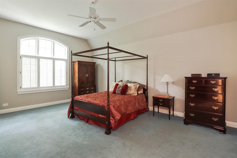 Real Estate Photography - 1224 Ashbury Lane, Libertyville, IL, 60048 - Master Bedroom