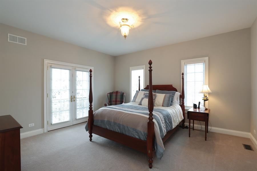 Real Estate Photography - 1224 Ashbury Lane, Libertyville, IL, 60048 - Bedroom