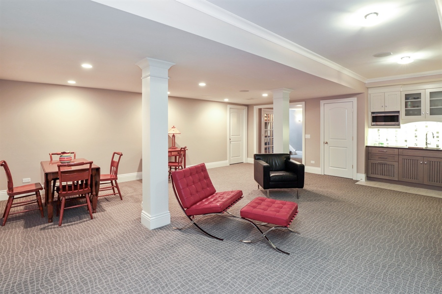 Real Estate Photography - 1224 Ashbury Lane, Libertyville, IL, 60048 - Basement