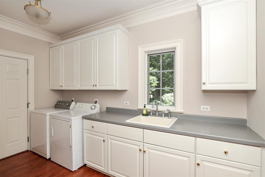 Real Estate Photography - 1224 Ashbury Lane, Libertyville, IL, 60048 - Laundry Room