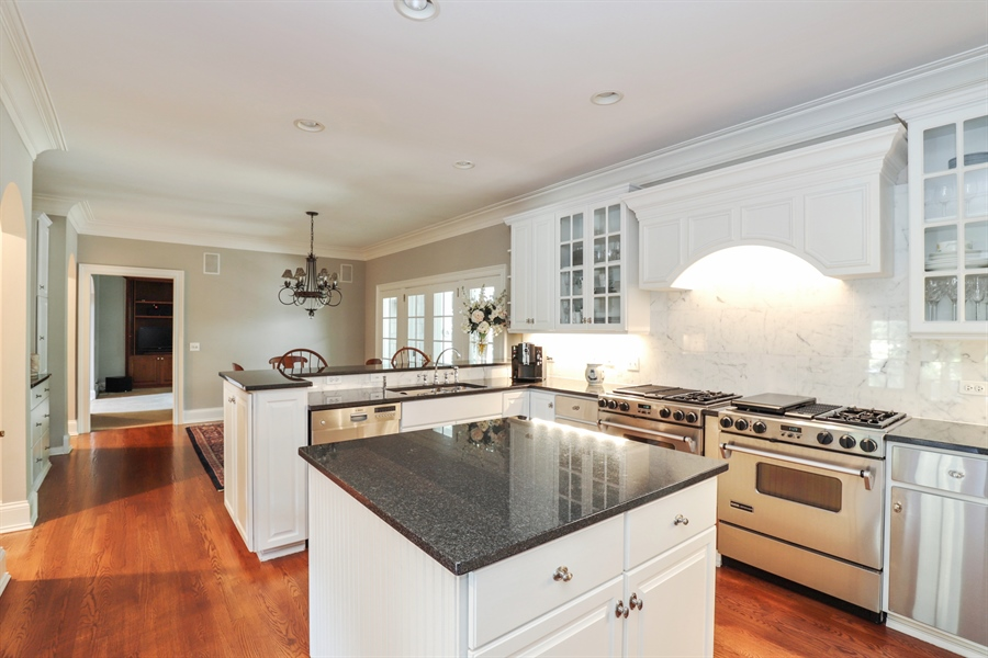 Real Estate Photography - 1224 Ashbury Lane, Libertyville, IL, 60048 - Kitchen