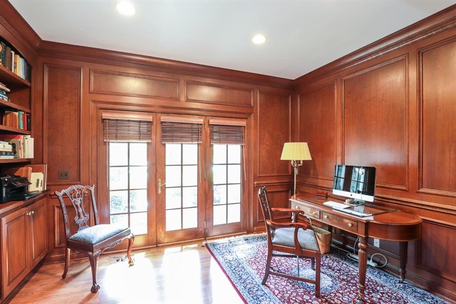 Real Estate Photography - 1224 Ashbury Lane, Libertyville, IL, 60048 - Office