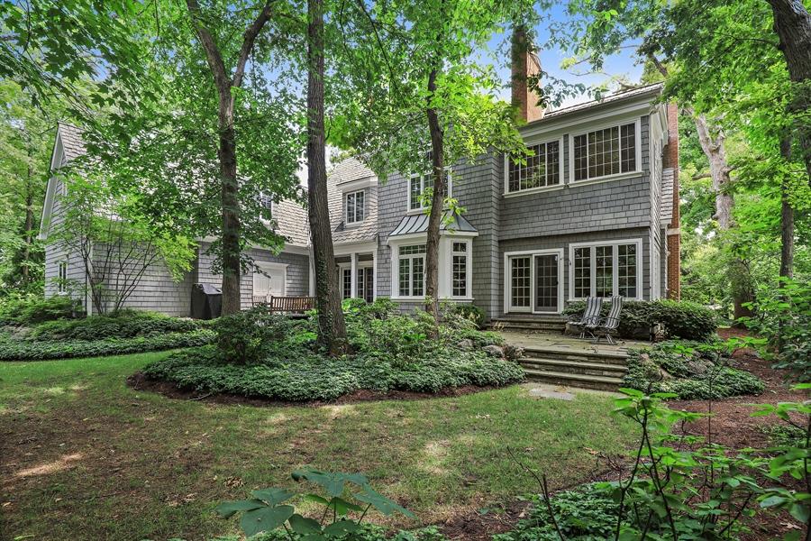 Real Estate Photography - 1224 Ashbury Lane, Libertyville, IL, 60048 - Rear View