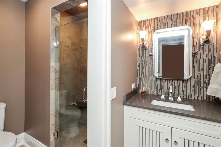 Real Estate Photography - 1224 Ashbury Lane, Libertyville, IL, 60048 - Basement Bathroom