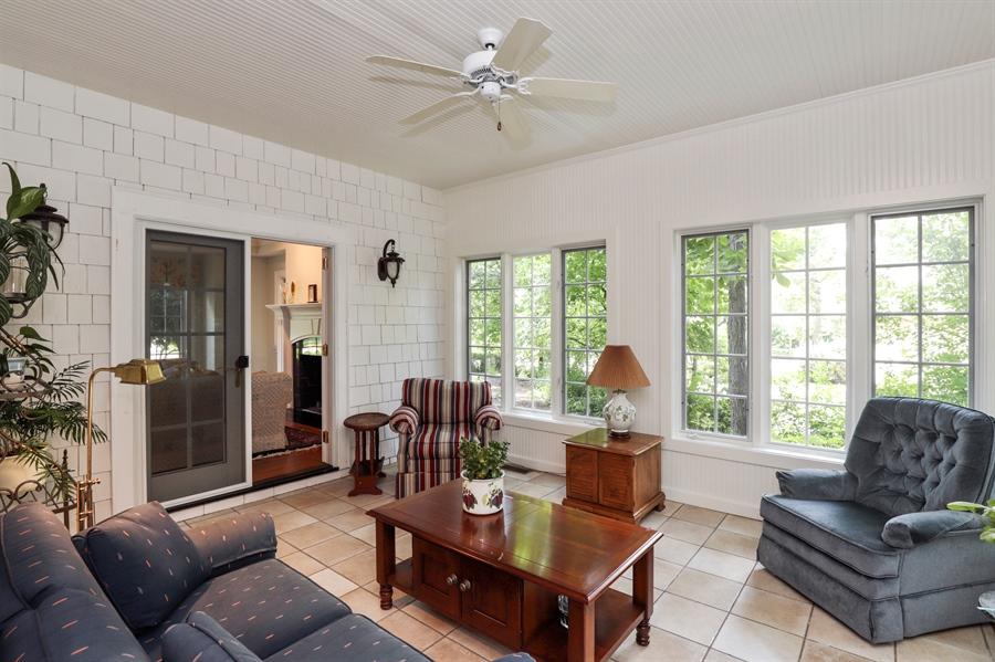 Real Estate Photography - 1224 Ashbury Lane, Libertyville, IL, 60048 - Sun Room