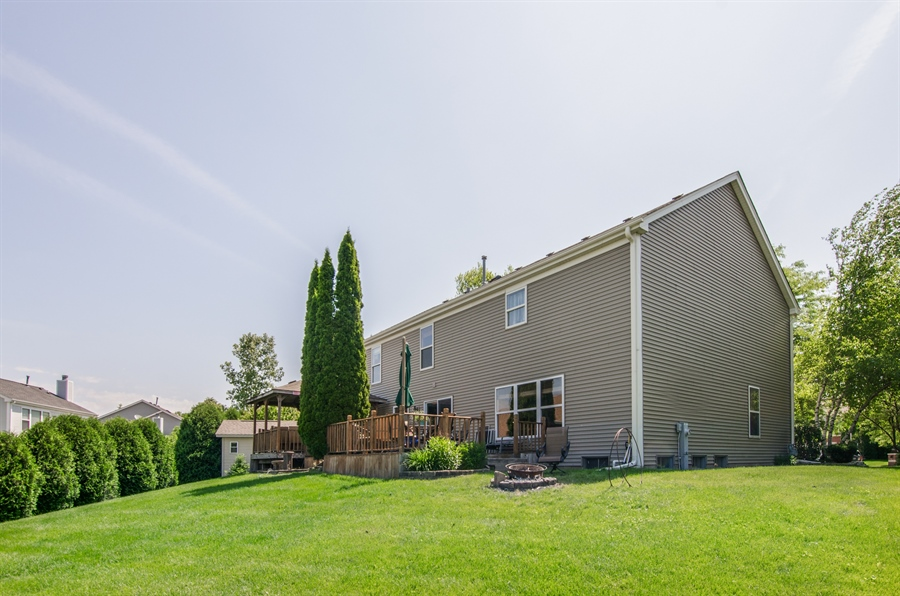 Real Estate Photography - 1402 Stanford Circle, Carpentersville, IL, 60110 - Rear View