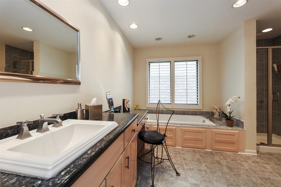 Real Estate Photography - 955 Villas Court, Highland Park, IL, 60035 - Master Bathroom