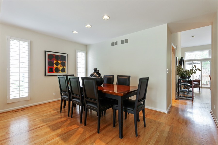 Real Estate Photography - 955 Villas Court, Highland Park, IL, 60035 - Dining Room