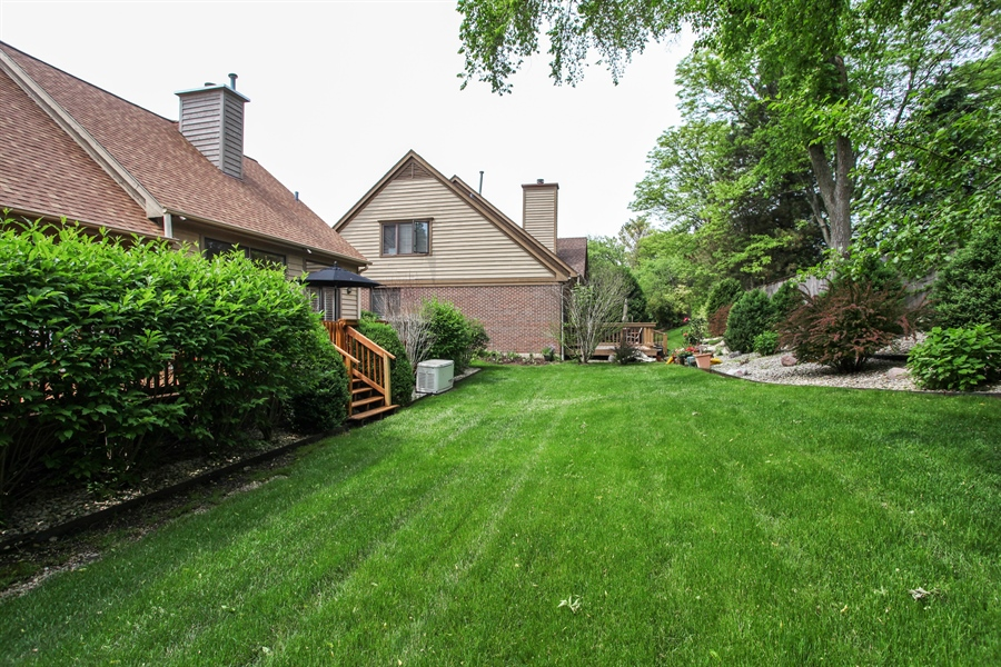 Real Estate Photography - 955 Villas Court, Highland Park, IL, 60035 - Back Yard